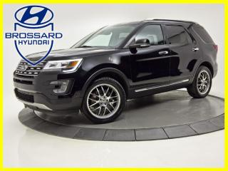 Used 2017 Ford Explorer AWD LIMITED CUIR TOIT OUVRANT NAV V6!! for sale in Brossard, QC