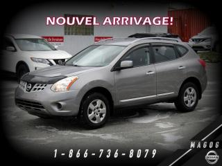 Used 2013 Nissan Rogue S AWD, BAS KILO, BLUETOOTH, A/C! for sale in Magog, QC