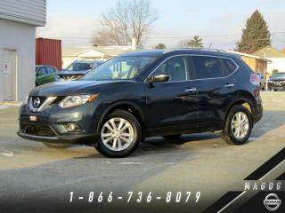 Used 2015 Nissan Rogue SV 2RM, TOIT, CAMÉRA, MAGS! for sale in Magog, QC
