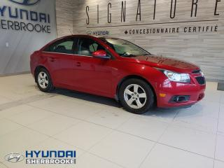 Used 2012 Chevrolet Cruze LT 1.4TURBO AIR BLUETOOTH DEMARREUR TOIT for sale in Sherbrooke, QC