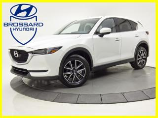 Used 2017 Mazda CX-5 AWD GT CUIR TOIT OUVRANT NAV CAM DE RECUL for sale in Brossard, QC