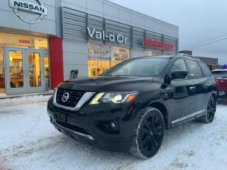 Used 2017 Nissan Pathfinder Platinum *** EDITION MINUIT + ÉDITION SPÉCIAL *** for sale in Val-d'Or, QC