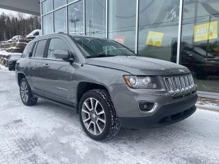 Used 2014 Jeep Compass LIMITED MAG CUIR U CONNECT for sale in Ste-Agathe-des-Monts, QC