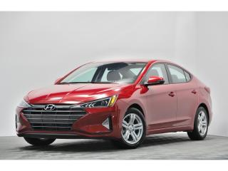 Used 2020 Hyundai Elantra PREFERRED APPLE CAR PLAY ANDROIDE AUTO CRUISE for sale in Brossard, QC