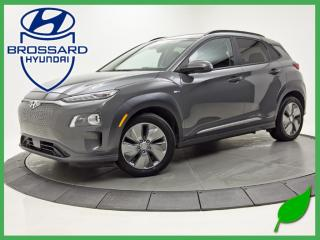 Used 2019 Hyundai KONA Electric ULTIMATE 100% ELECTRIQUE CUIR for sale in Brossard, QC