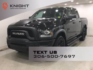 New 2021 RAM 1500 Classic Warlock Crew Cab | Sunroof | Navigation | for sale in Regina, SK