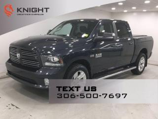 Used 2014 RAM 1500 Sport Crew Cab | Leather | Sunroof | Navigation | Rambox | for sale in Regina, SK