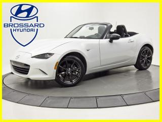 Used 2016 Mazda Miata MX-5 GS AUTOMATIQUE JAMAIS ACCIDENTÉ CONVERTIBLE for sale in Brossard, QC