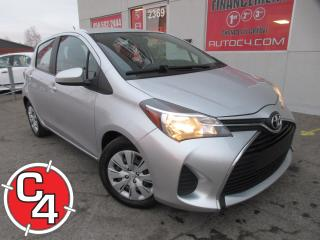 Used 2015 Toyota Yaris LE A/C AUT HATCHBACK for sale in St-Jérôme, QC