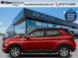 New 2021 Hyundai Venue Essential w/Two-Tone IVT  - $138 B/W for sale in Nepean, ON