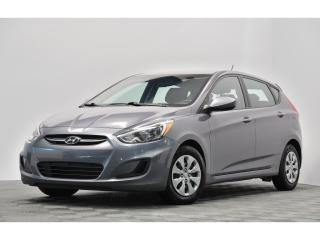 Used 2016 Hyundai Accent GL AUTO GARANTIE 8 ANS OU 160 000KM !!! BLUETOOTH for sale in Brossard, QC