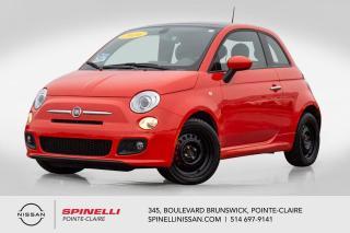 Used 2016 Fiat 500 Sport SPORT / CUIR / CAMERA DE RECUL / A/C /  BLUETOOTH for sale in Montréal, QC