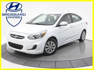 Used 2017 Hyundai Accent GL AUTO SIÈGES CHAUFFANTS BLUETOOTH CRUISE for sale in Brossard, QC