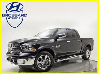 Used 2018 RAM 1500 LARAMIE DIESEL CREWCAB CUIR GPS  TOIT OUVRANT for sale in Brossard, QC