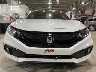 Used 2020 Honda Civic Sport CVT NEUF pneus d'hiver inclus for sale in Rouyn-Noranda, QC
