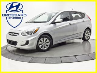 Used 2016 Hyundai Accent GL SIÈGES CHAUFFANTS BLUETOOTH CRUISE for sale in Brossard, QC