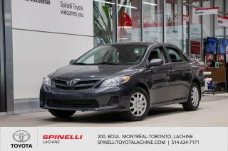 Used 2013 Toyota Corolla BAS MILEAGE! for sale in Lachine, QC
