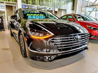 Used 2020 Hyundai Sonata Hybrid ULTIMATE **LIQUIDATION JAMAIS VUE** for sale in St-Eustache, QC