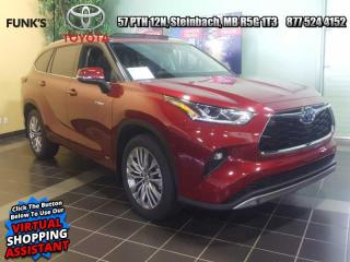 New 2021 Toyota Highlander Hybrid Platinum for sale in Steinbach, MB