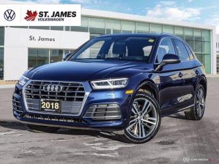 Used 2018 Audi Q5 Progressiv, One Owner, Heated Seats, Apple CarPlay for sale in Winnipeg, MB
