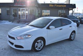 Used 2016 Dodge Dart SE STYLISH! STANDARD TRANSMISSION! FUN TO DRIVE! for sale in Saskatoon, SK