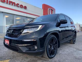 Used 2019 Honda Pilot Black Edition for sale in Simcoe, ON