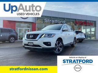 Used 2020 Nissan Pathfinder PLATINUM|Low km|Huge Savings over New for sale in Stratford, ON