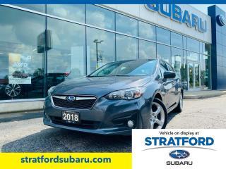 Used 2018 Subaru Impreza Touring Manual Transmission for sale in Stratford, ON