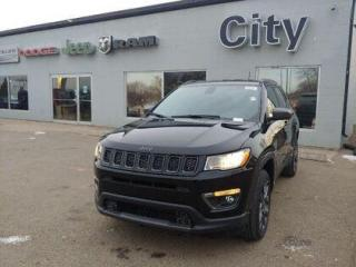 New 2021 Jeep Compass Leather | Heated Seats & Wheel #153 for sale in Medicine Hat, AB