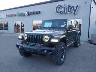 New 2021 Jeep Wrangler Rubicon Unlimited | Loaded | LED | Tow | FT 4WD for sale in Medicine Hat, AB