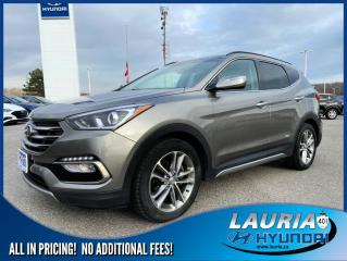 Used 2017 Hyundai Santa Fe Sport 2.0T AWD Limited - LOADED for sale in Port Hope, ON
