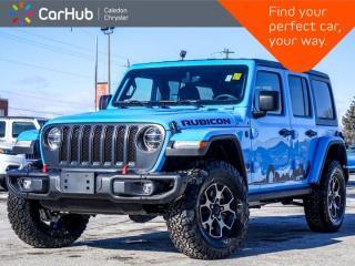 New 2021 Jeep Wrangler Unlimited Rubicon 4x4 Hard Top Navigation Bluetooth Blind Spot Backup Camera Remote Start 17
