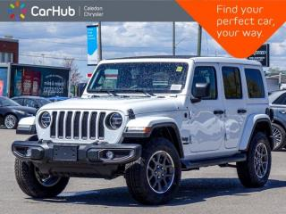 New 2021 Jeep Wrangler Unlimited Sahara 80th Anniversary Sky One Touch Power Top Navigation Blind Spot Remote Start 18