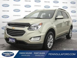Used 2016 Chevrolet Equinox LT - Heated Seats -  Bluetooth - $115 B/W for sale in Port Elgin, ON