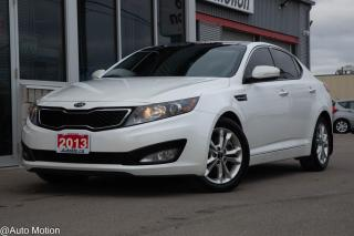 Used 2013 Kia Optima LUXURY PKG LEATHER SUNROOF BACK UP CAM for sale in Chatham, ON