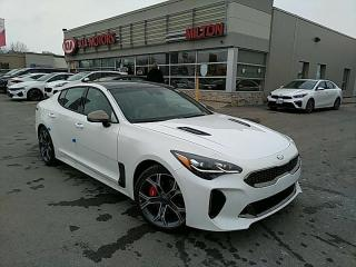 New 2021 Kia Stinger GT Limited w/Red Interior for sale in Milton, ON