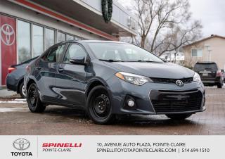 Used 2016 Toyota Corolla ***RÉSERVÉ***SPORT CAMÉRA DE RECUL, SIÈGES CHAUFFANT for sale in Pointe-Claire, QC