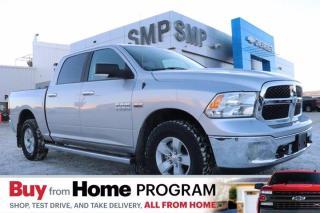 Used 2018 RAM 1500 SLT- 4X4, Remote Start, Heated Bucket Seats + Steering Wheel for sale in Saskatoon, SK