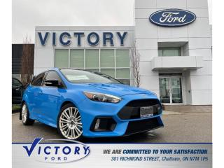 Used 2018 Ford Focus RS RS| BREMBO BRAKES| RECARO SEATS for sale in Chatham, ON
