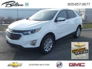 New 2021 Chevrolet Equinox -  1LT Package for sale in Bolton, ON