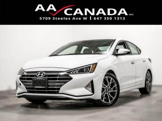 Used 2019 Hyundai Elantra Luxury for sale in North York, ON