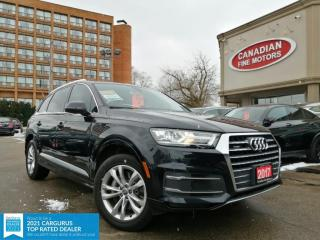 Used 2017 Audi Q7 CAR PLAY | PROGRESSIV | CLEAN CARFAX | NAVI | CAM | 7 PASS | for sale in Scarborough, ON