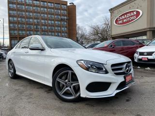 Used 2017 Mercedes-Benz C-Class C300 4MATIC AMG PKG | NAVI | CAM | ROOF | 4 NEW SN for sale in Scarborough, ON