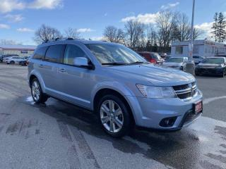 Used 2013 Dodge Journey Crew 4dr FWD Sport Utility Vehicle for sale in Brantford, ON