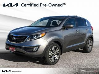 Used 2016 Kia Sportage EX Luxury AWD for sale in Port Dover, ON