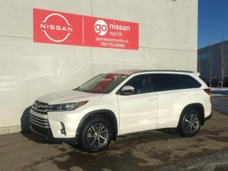 Used 2017 Toyota Highlander XLE/AWD/PUSH START/BLIND SPOT/LANE ASSIST for sale in Edmonton, AB