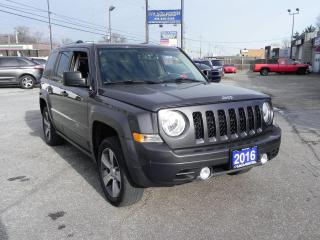 Used 2016 Jeep Patriot HIGH ALTITUDE 4X4 for sale in Windsor, ON