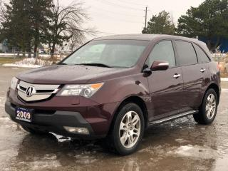 Used 2009 Acura MDX Tech Pkg|One owner|Clean Carfax|Navigation|7 Pass| for sale in Bolton, ON