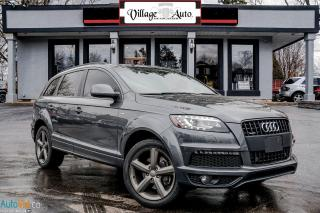 Used 2015 Audi Q7 3.0T Vorsprung Edition, S-line for sale in Ancaster, ON