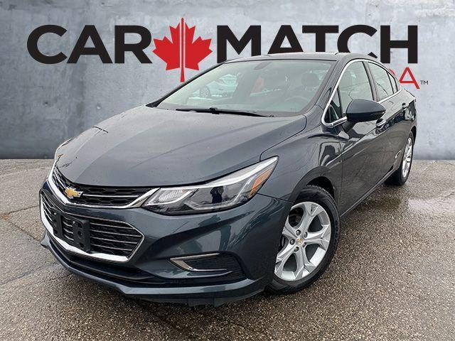 2018 Chevrolet Cruze NO ACCIDENTS / PREMIER / LEATHER